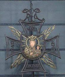 Krzyż Konfederatów Barskich, Jasna Góra