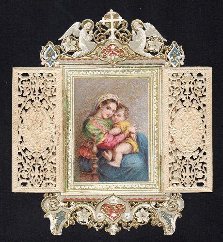Ołtarzyk Maryi koronkowy