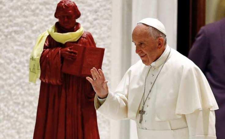 Franciszek z Lutrem