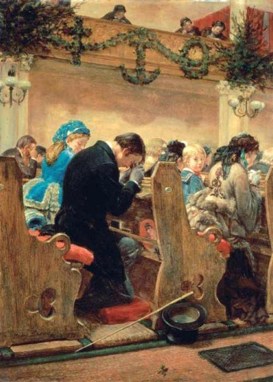 rodziny w kościele