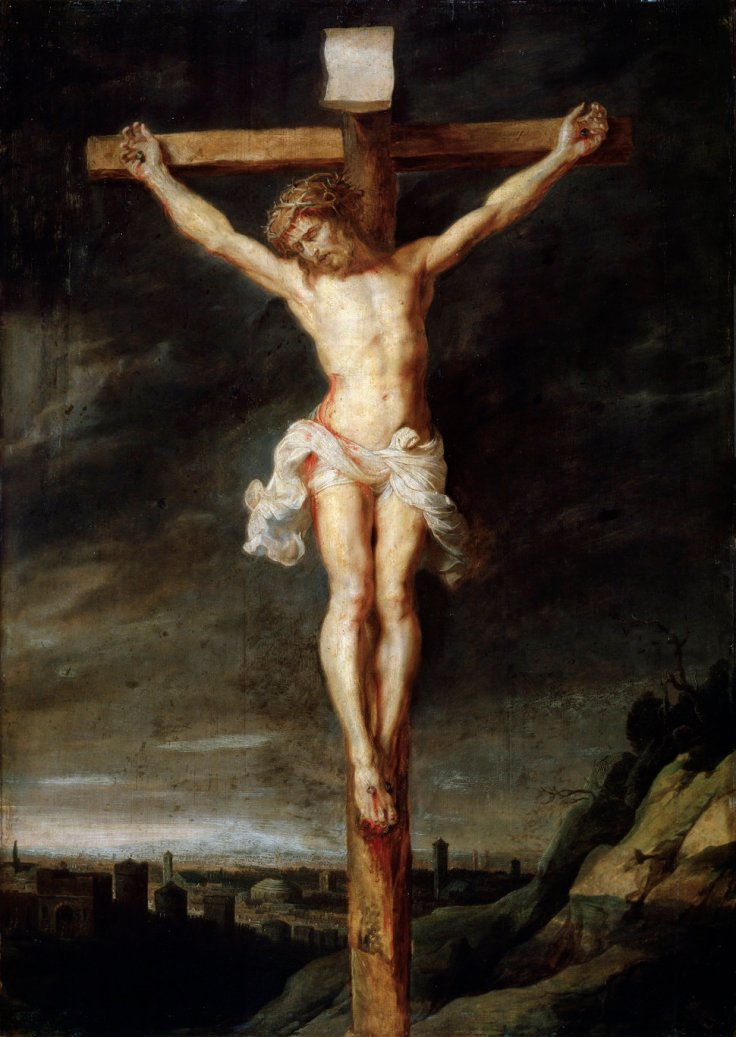 'The Crucifixion'. Artist: Peter Paul Rubens