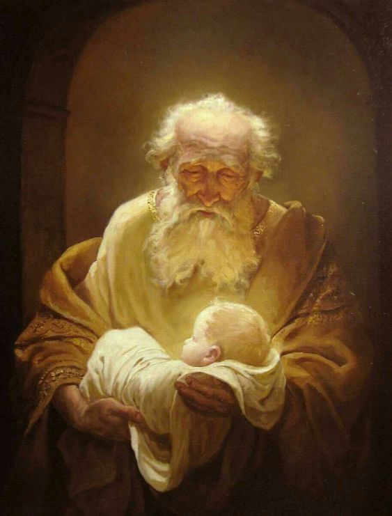 Symeon i Jezus