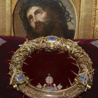 Korona Cierniowa Pana Jezusa, Notre Dame, Paryż. Wielki Poniedziałek.