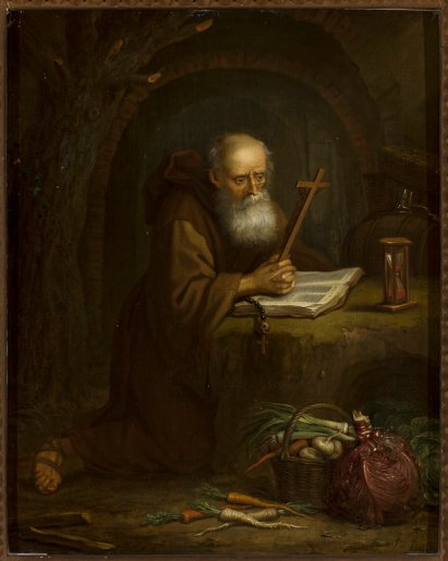 Balthasar_Beschey_-_A_Hermit_at_Prayer