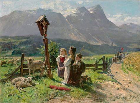 Dzieci z kapliczką