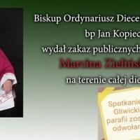 Katolicy dziękują Biskupowi za obronę przed zielonoświątkową herezją. Czekamy na biskupa, który obroni swą diecezję przed herezją talmudyczną.