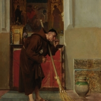 Puryfikacja kościoła po rozdawaniu Komunii Świętej na rękę.
