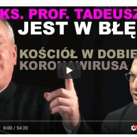 Ks. profesor Tadeusz Guz nie jest w błędzie. Dziwne wypowiedzi przełożonego FSSPX.